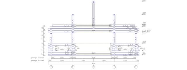 схема сборки сруба: