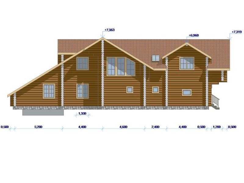 Фасад дома - фото 2