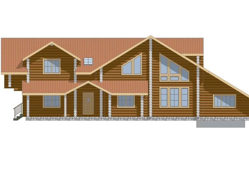 Фасад дома - фото 1