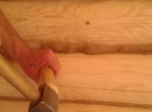 Конопатка бревенчатого сруба - фото3