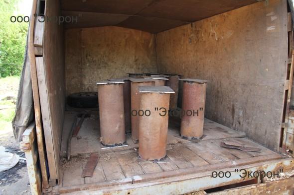 Подъем бревенчатого дома на опоры-фото