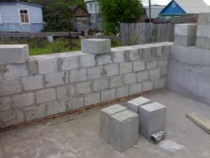 Дом из пеноблока строительство - фото