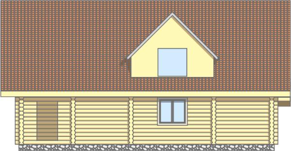 Фасад 3 дома «Добрыня» - фото