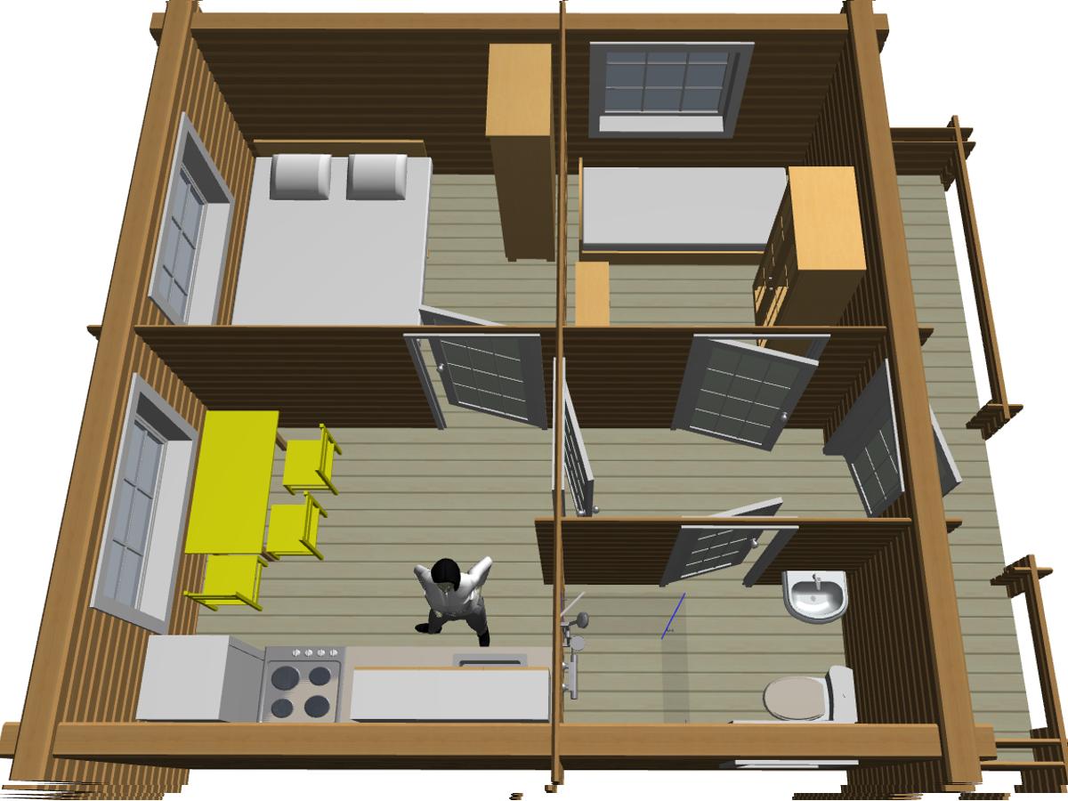 Дом из двойного бруса по отличной цене - фото 10