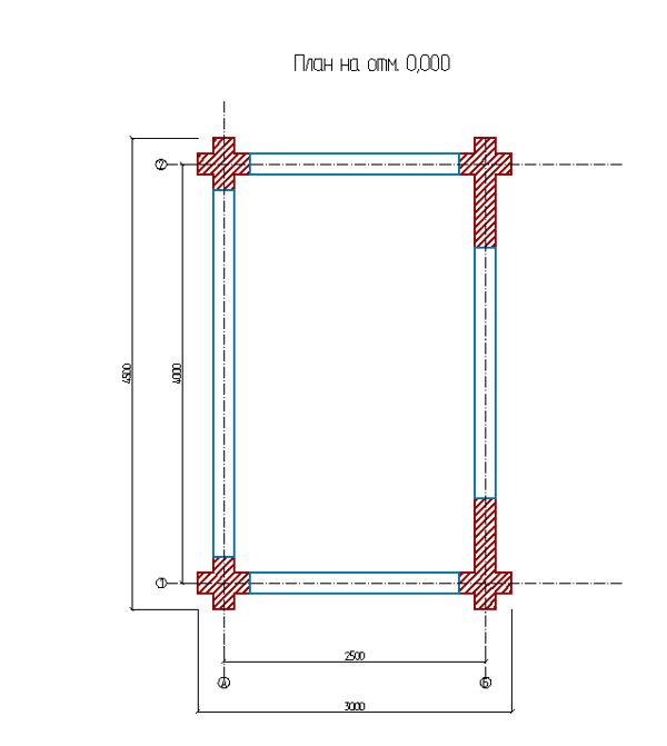 План дровяника - фото