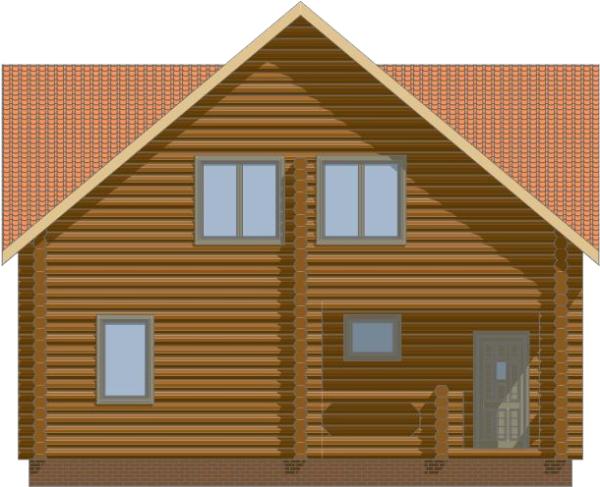 Фасад дома - фото 4