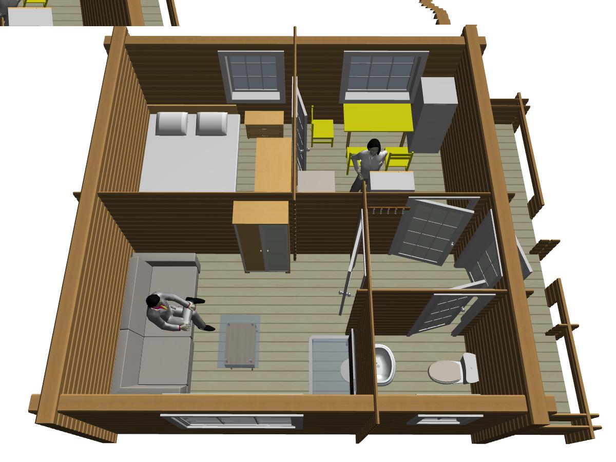 Дом из двойного бруса - фото 2