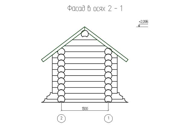 Фасад 1-2 - фото