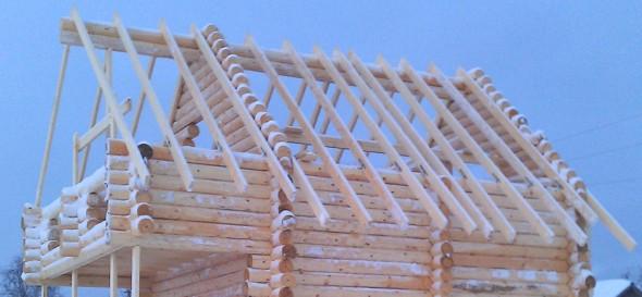 Срубить крышу дома