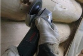 Когда и как шлифовать сруб из бревна