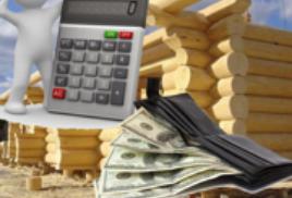 Как разумно сэкономить на строительстве бревенчатого дома