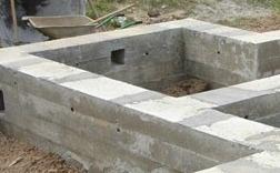 какой фундамент выбрать для дома из бревна или бревенчатой бани?