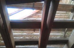 Из чего делают лаги (балки) пола / потолка в срубе дома или бани.