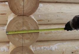 Какой диаметр бревна наиболее подходит к нашей климатической зоне
